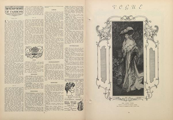 Article Preview: Society, July 16 1908 | Vogue