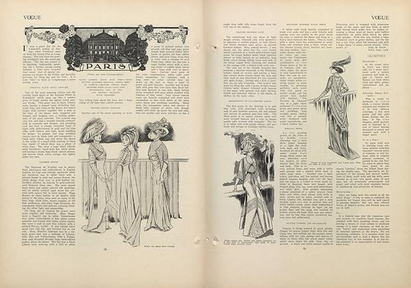 Article Preview: Paris (From Our Own Correspondent), July 16 1908 | Vogue