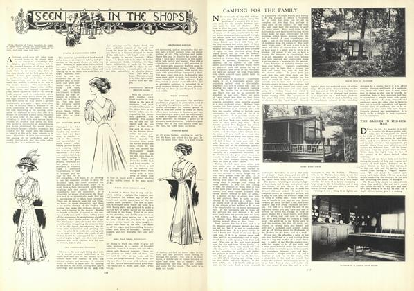 Article Preview: Camping for the Family, July 23 1908 | Vogue