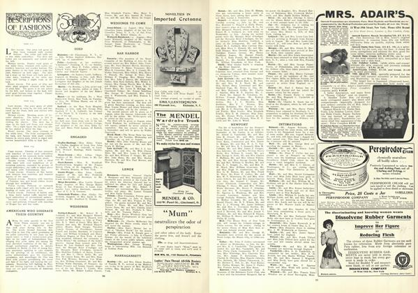 Article Preview: Society, July 23 1908 | Vogue