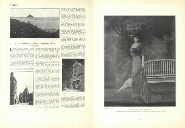 Article Preview: A Pilgrimage with Philistines: Part V, July 30 1908 | Vogue