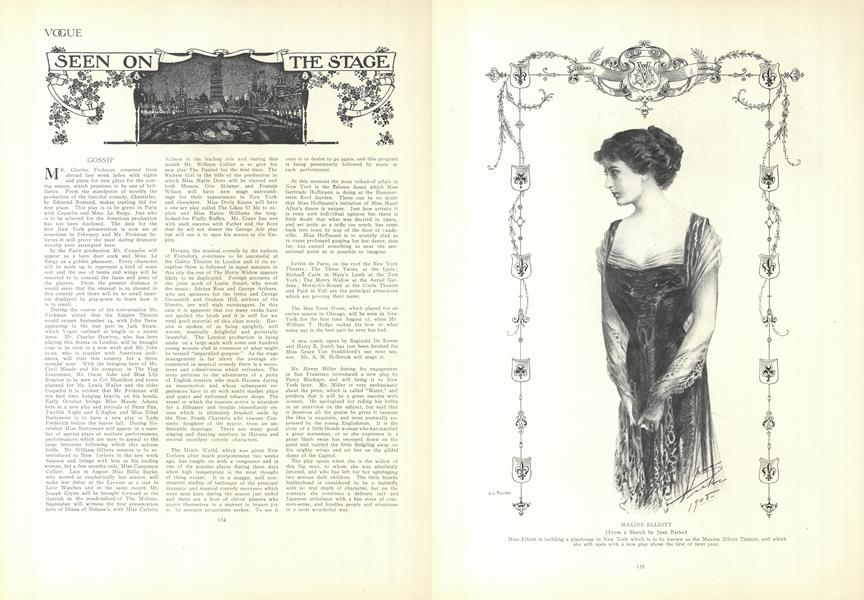 Seen on the Stage
