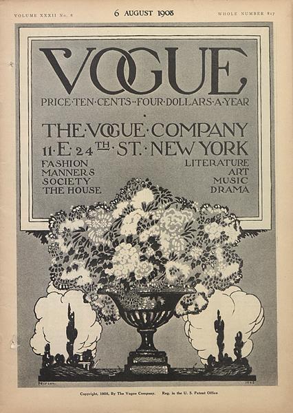 Issue: - August 6 1908 | Vogue