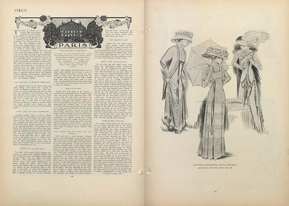 Article Preview: Paris (From Our Own Correspondent), August 6 1908 | Vogue