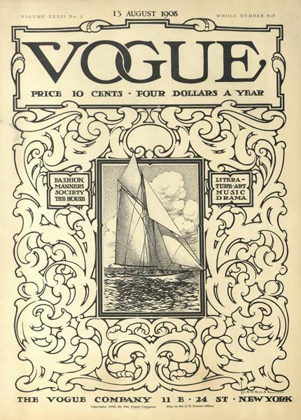 Issue: - August 13 1908 | Vogue