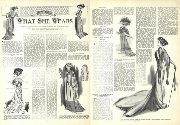 Article Preview: What She Wears, August 20 1908 | Vogue