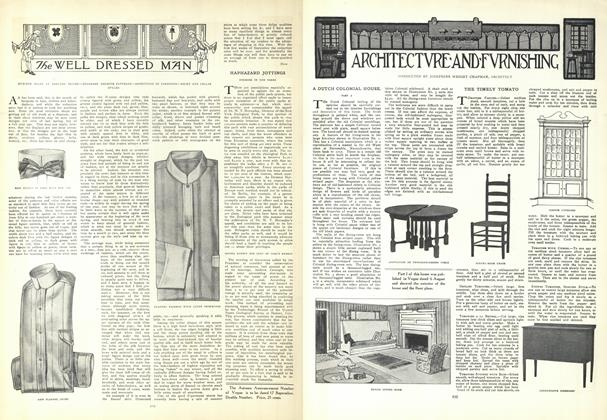 Article Preview: The Well Dressed Man, August 20 1908 | Vogue