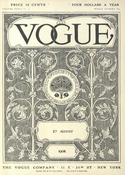 Issue: - August 27 1908 | Vogue