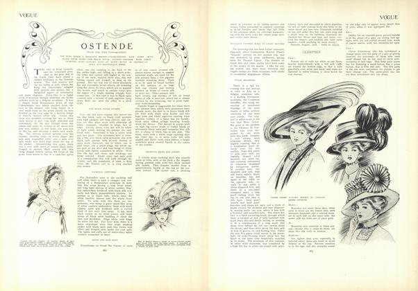 Article Preview: Ostende, August 27 1908 | Vogue
