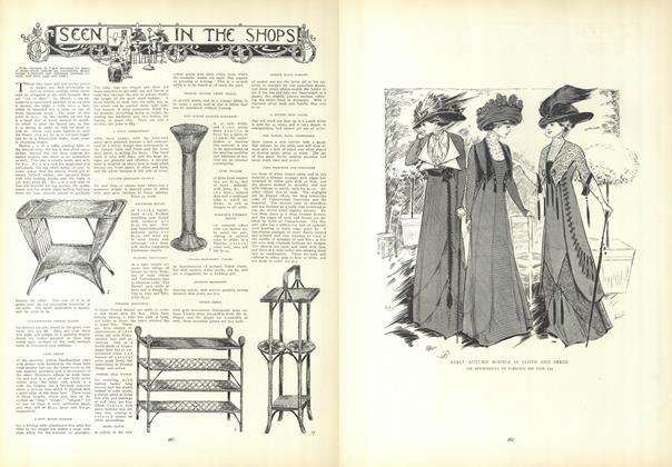 Article Preview: Seen in the Shops, August 27 1908 | Vogue