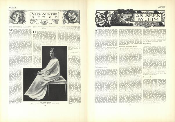 Article Preview: As Seen by Him, August 27 1908 | Vogue