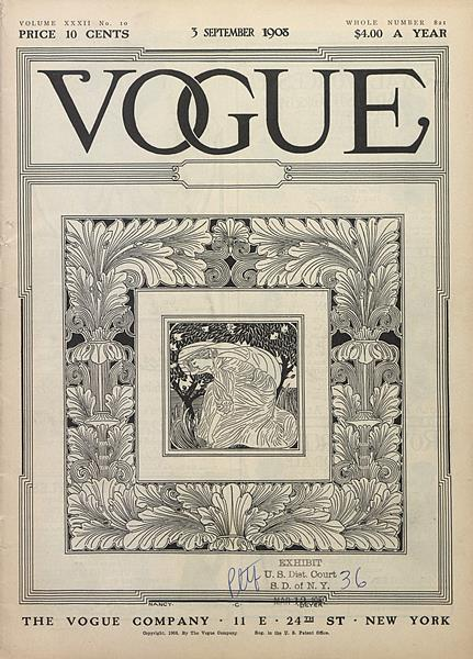 Issue: - September 3 1908 | Vogue