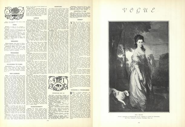 Article Preview: Society, September 10 1908 | Vogue