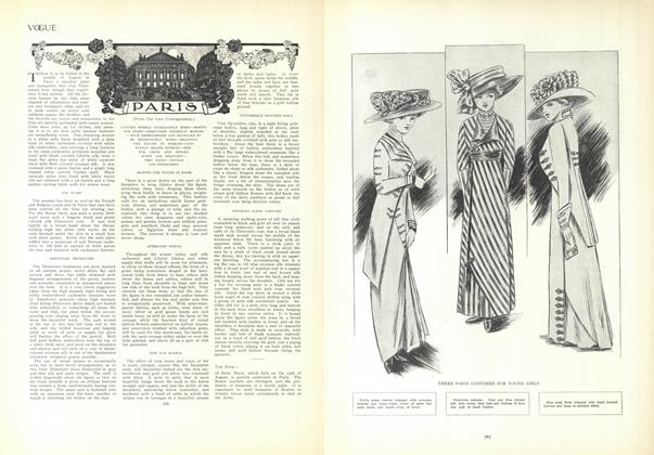 Article Preview: Paris (From Our Own Correspondent.), September 10 1908 | Vogue