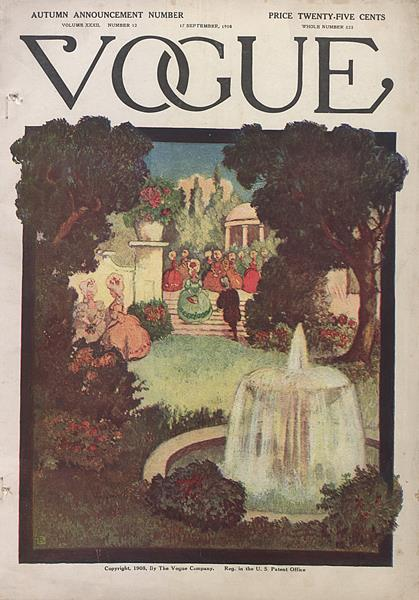 Issue: - September 17 1908 | Vogue