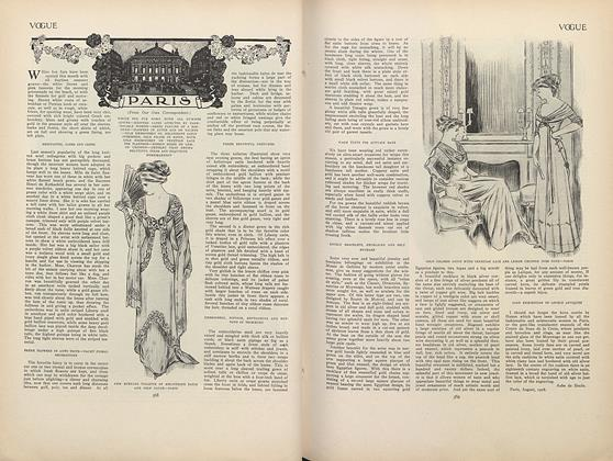 Article Preview: Paris (From Our Own Correspondent), September 17 1908   Vogue