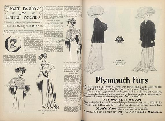 Article Preview: Smart Fashions for Limited Incomes, September 17 1908 | Vogue