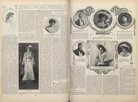 Article Preview: Seen on the Stage, September 17 1908 | Vogue