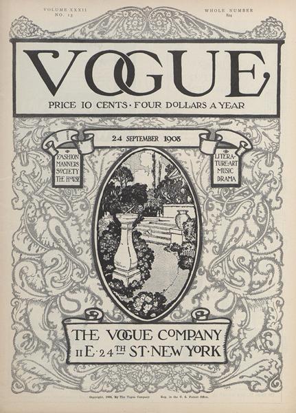 Issue: - September 24 1908 | Vogue