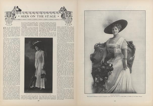 Article Preview: Seen on the Stage, September 24 1908 | Vogue