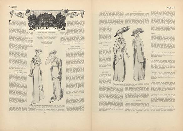 Article Preview: Paris (From Our Own Correspondent), October 1 1908 | Vogue