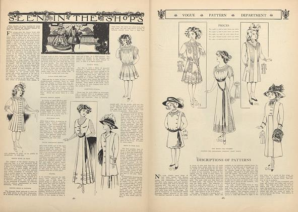 Article Preview: Seen in the Shops, October 1 1908 | Vogue