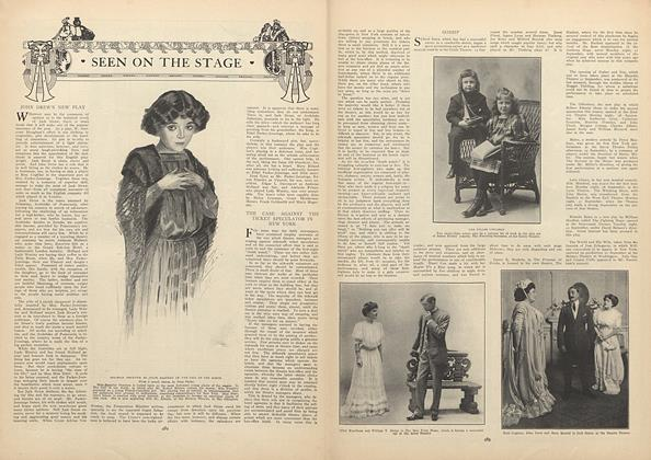 Article Preview: Seen on the Stage, October 1 1908 | Vogue