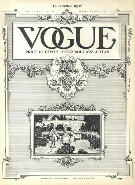 Issue: - October 15 1908 | Vogue