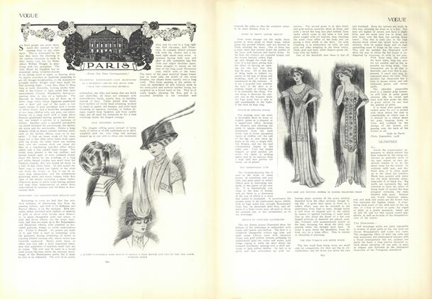 Article Preview: Paris, October 15 1908 | Vogue