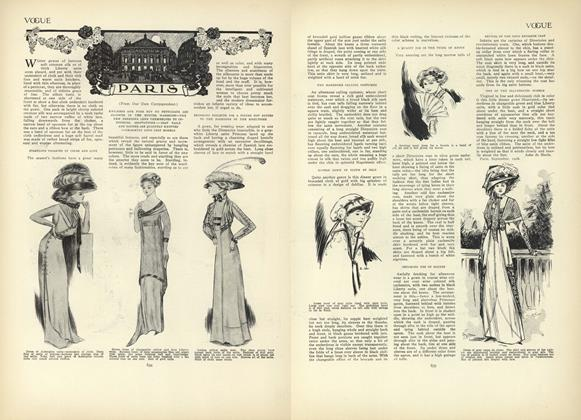 Article Preview: Paris (From Our Own Correspondent), October 22 1908 | Vogue