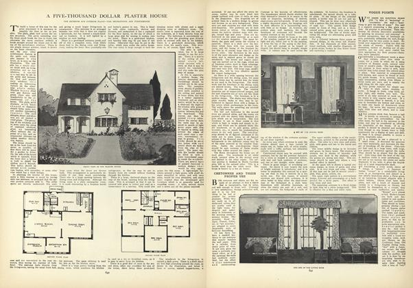 Article Preview: A Five-Thousand Dollar Plaster House, October 22 1908 | Vogue