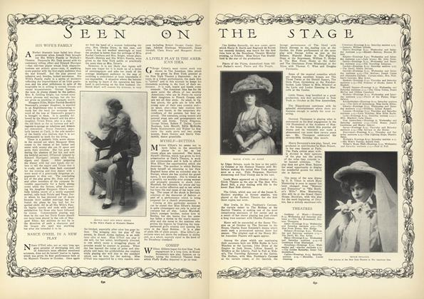 Article Preview: Seen on the Stage, October 22 1908 | Vogue