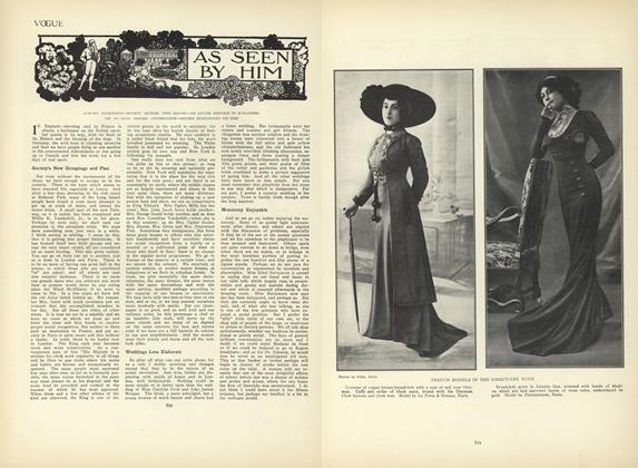 Article Preview: As Seen by Him, October 22 1908 | Vogue