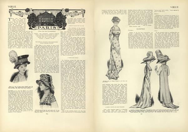 Article Preview: Paris: (From Our Own Correspondent), October 29 1908 | Vogue