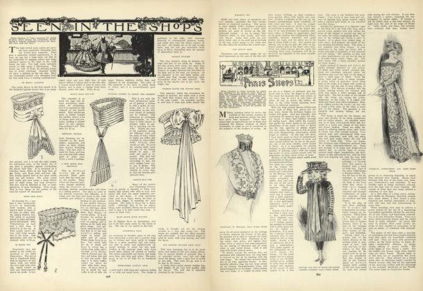 Article Preview: Seen in the Shops, October 29 1908 | Vogue