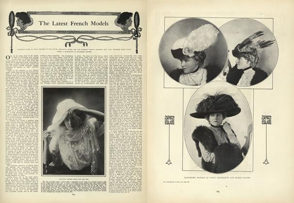 Article Preview: The Latest French Models, October 29 1908 | Vogue