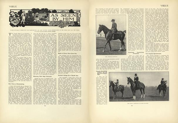 Article Preview: As Seen by Him, October 29 1908 | Vogue