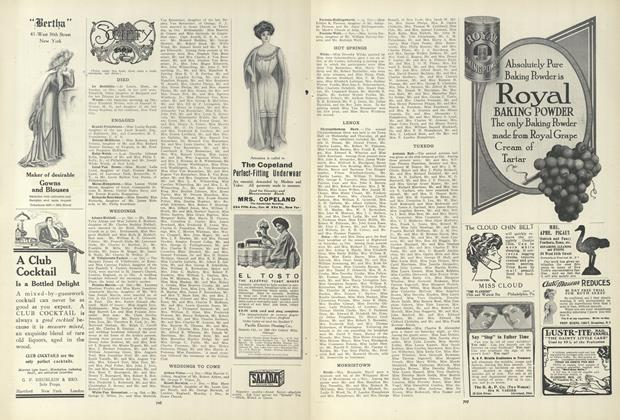 Article Preview: Society, November 5 1908 | Vogue