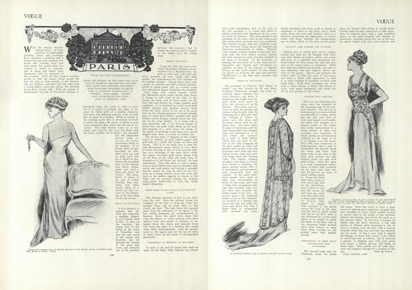 Article Preview: Paris (From Our Own Correspondent), November 5 1908 | Vogue