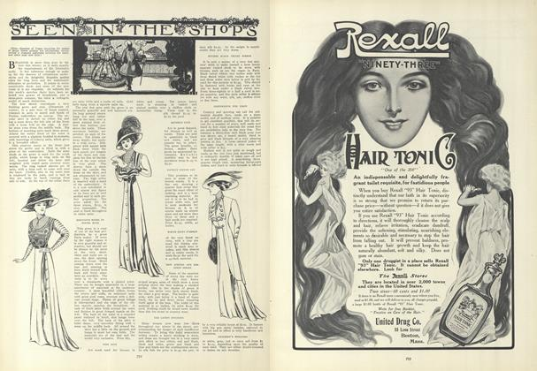 Article Preview: Seen in the Shops, November 5 1908 | Vogue