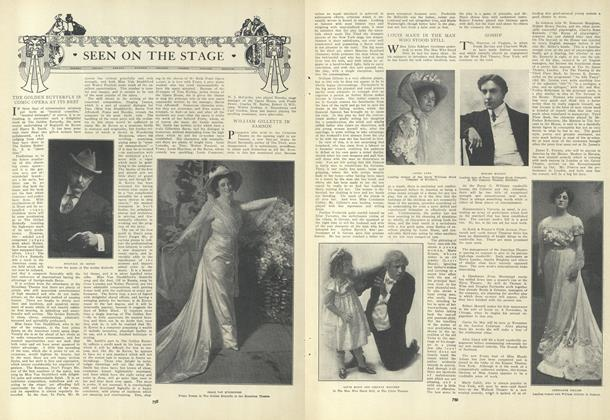 Article Preview: Seen on the Stage, November 5 1908 | Vogue
