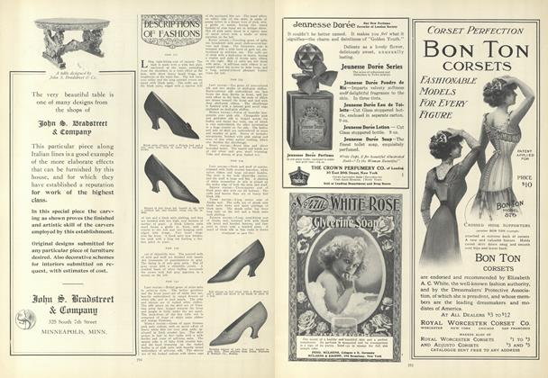 Article Preview: Descriptions of Fashions, November 5 1908 | Vogue