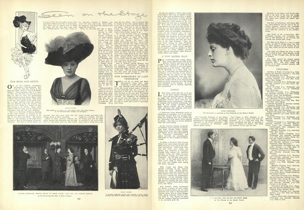 Article Preview: Seen on the Stage, November 19 1908 | Vogue