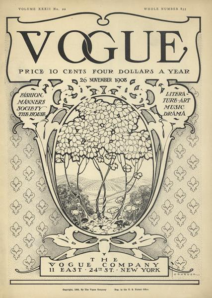 Issue: - November 26 1908 | Vogue