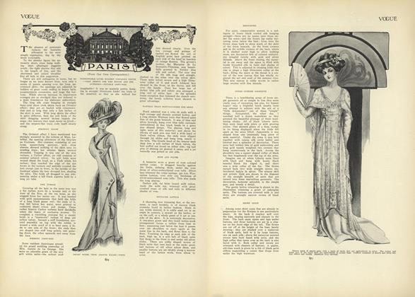 Article Preview: Paris (From Our Own Correspondent), November 26 1908 | Vogue