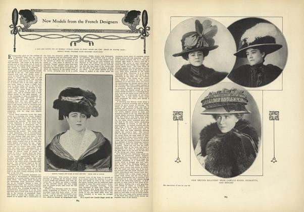 Article Preview: New Models from the French Designers, November 26 1908 | Vogue