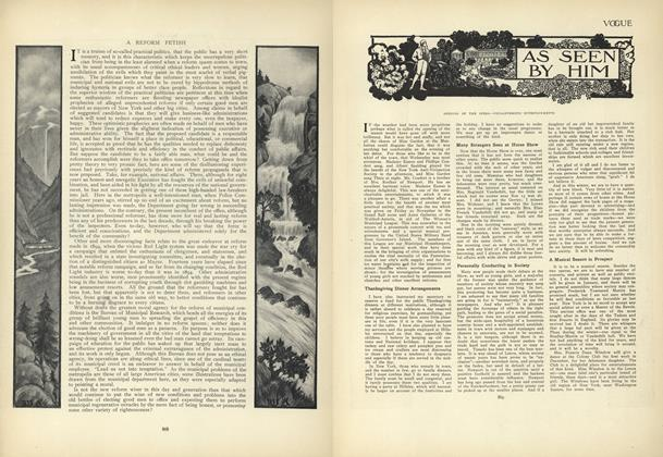 Article Preview: As Seen by Him, November 26 1908 | Vogue
