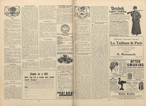 Article Preview: Society, December 3 1908   Vogue