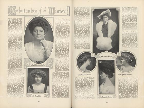 Article Preview: Debutantes of the Winter, December 3 1908 | Vogue