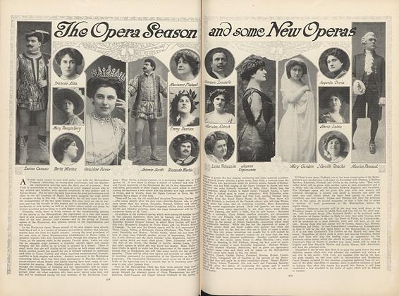 Article Preview: The Opera Season and Some New Operas, December 3 1908 | Vogue